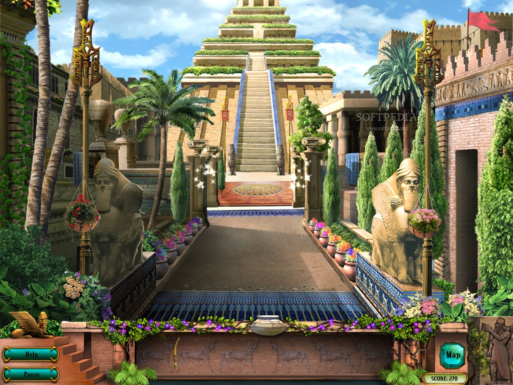 Hanging Gardens Of Babylon The Seven Wonders Of The Ancient World